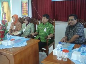 Pembukaan Workshop ptk BK oleh KA Dinas Pendidikan Kab. Pacitan