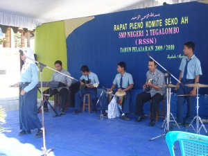 Group Band SMP N 2 Tegalombo