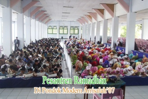 Pesantren Romadhon di PP Arrisalah Slahung Ponorogo