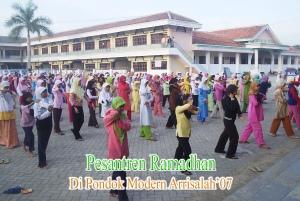 Suasana Pesantren Romadhon di PP Arrisalah Slahung Ponorogo